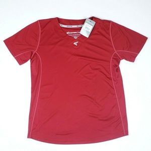 Easton Youth Homeplate Jersey Casual T-Shirt Red